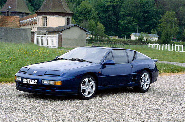 Alpine A610 1991 - 1995 Coupe #5