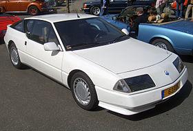 Alpine GTA 1985 - 1990 Coupe #7