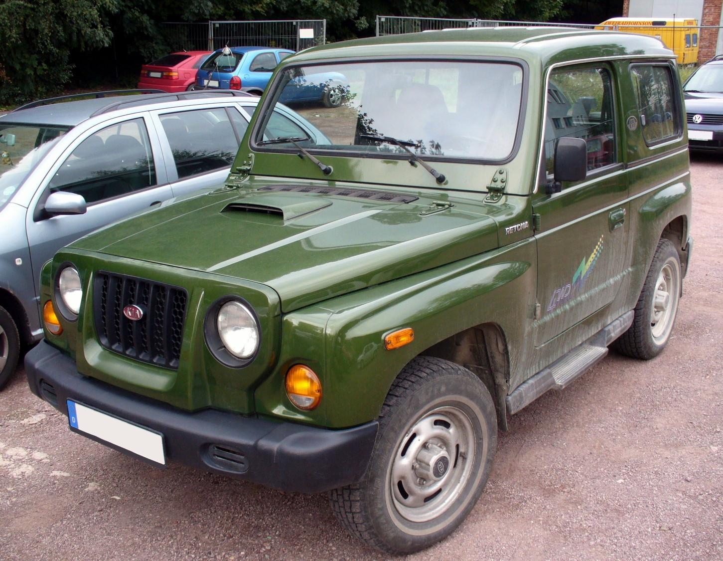 Asia Retona 1997 - 2003 SUV 3 door #4