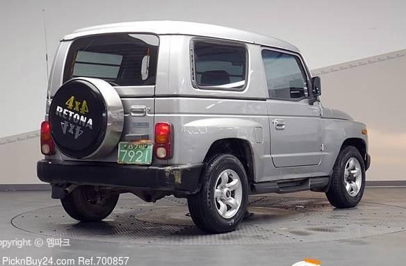 Asia Retona 1997 - 2003 SUV 3 door #3