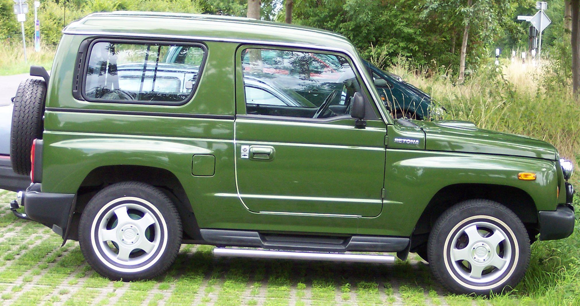 Asia Retona 1997 - 2003 SUV 3 door #6
