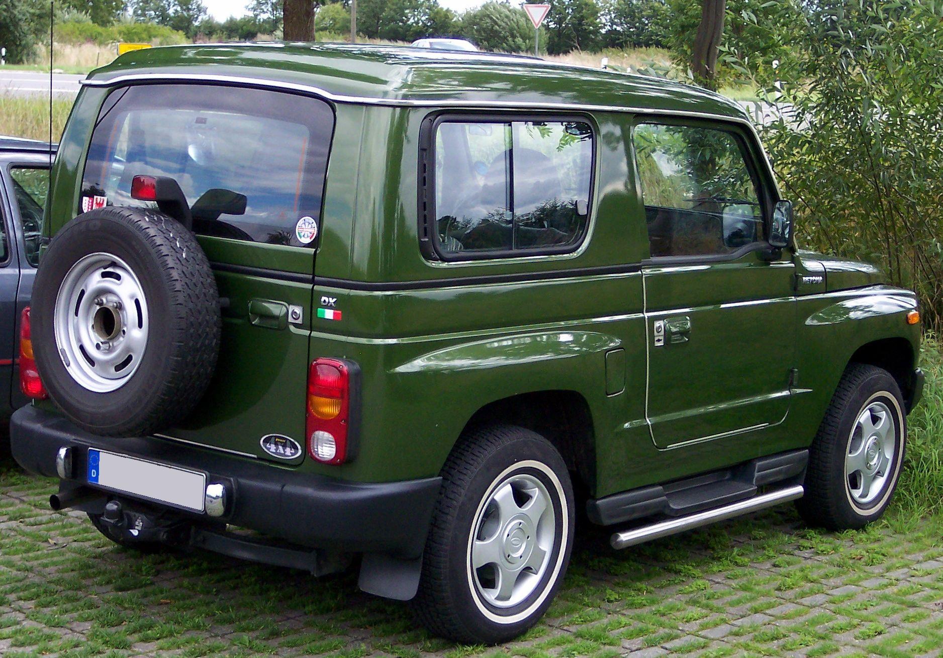 Asia Retona 1997 - 2003 SUV 3 door #5