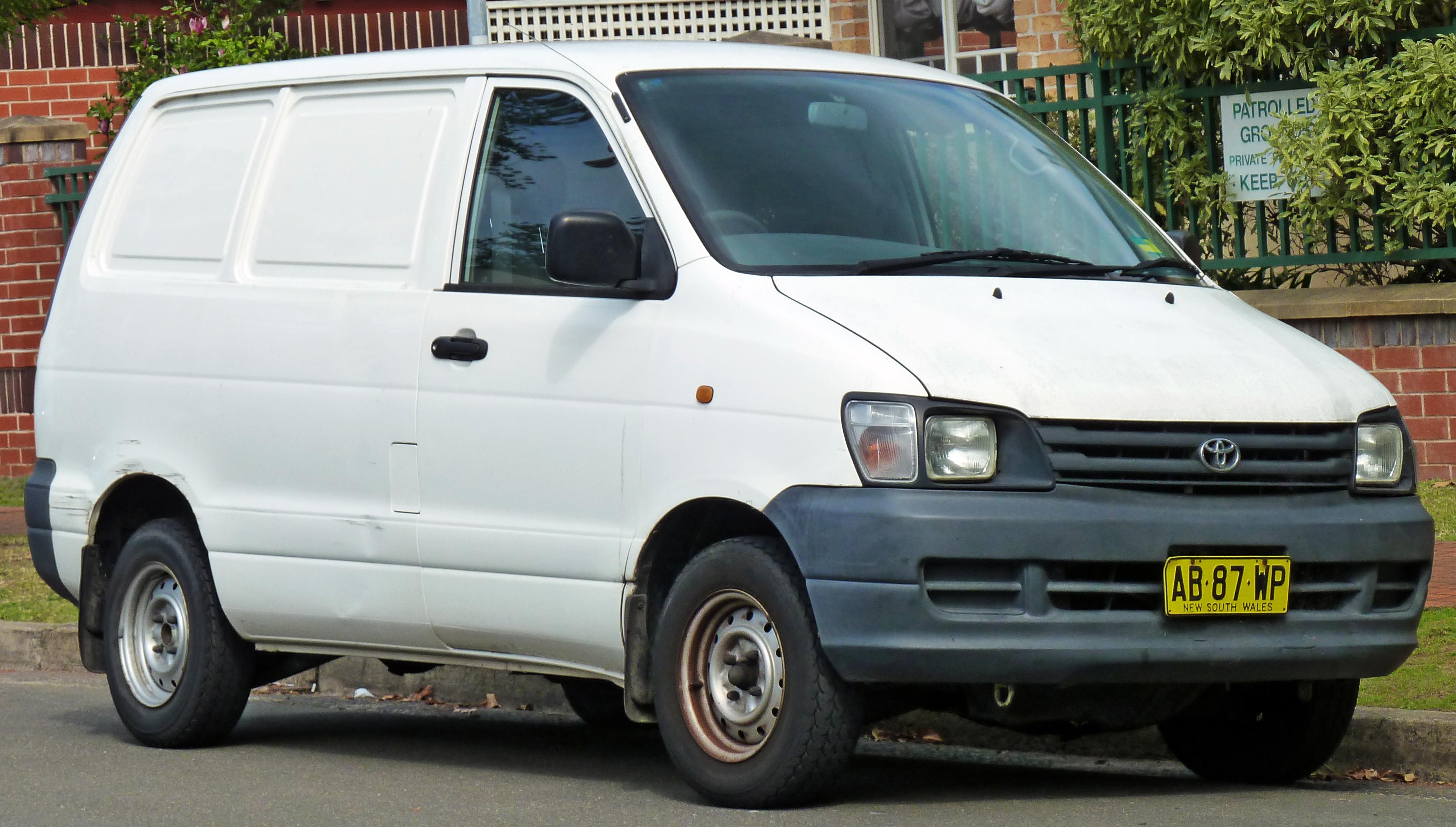 Toyota LiteAce VI 2008 - now Minivan #2