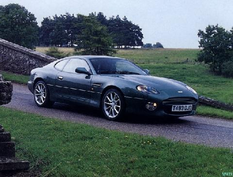 Aston Martin DB7 I Restyling 1999 - 2003 Coupe #7