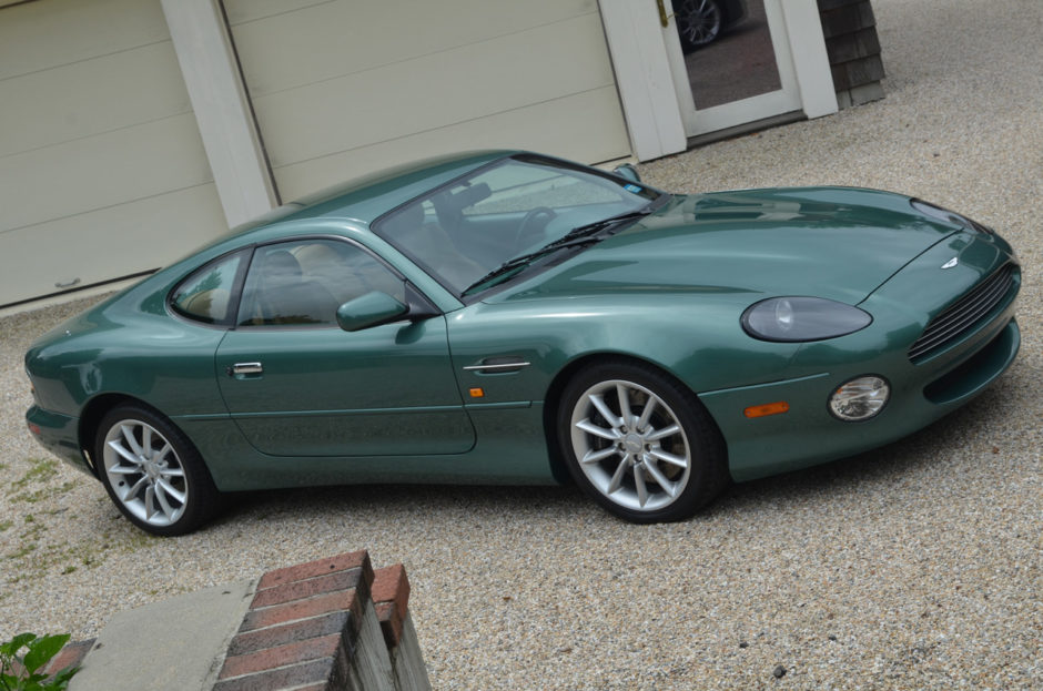 Aston Martin DB7 I Restyling 1999 - 2003 Coupe #8