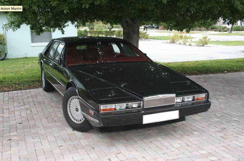 Aston Martin Lagonda 1976 - 1997 Sedan #6