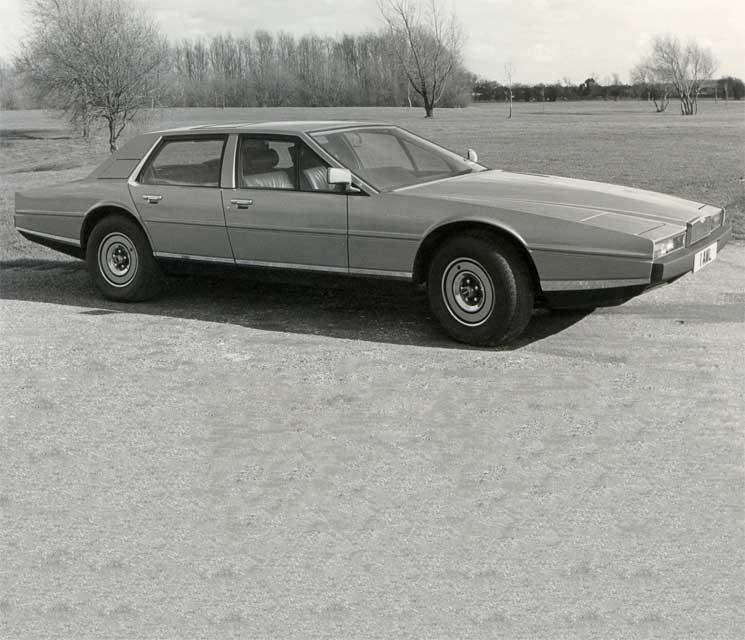 Aston Martin Lagonda 1976 - 1997 Sedan #3