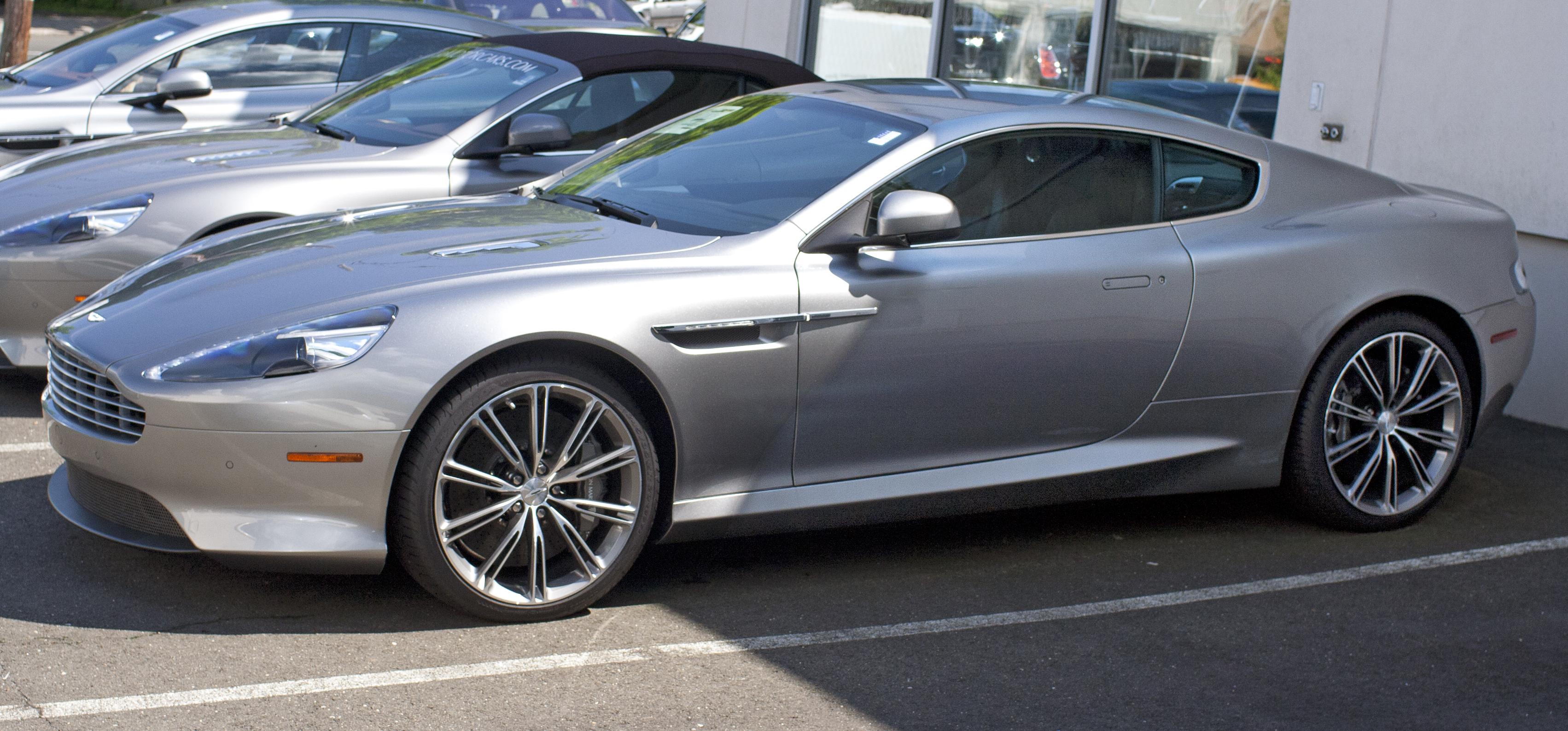 Aston Martin Virage II 2011 - 2012 Coupe #1