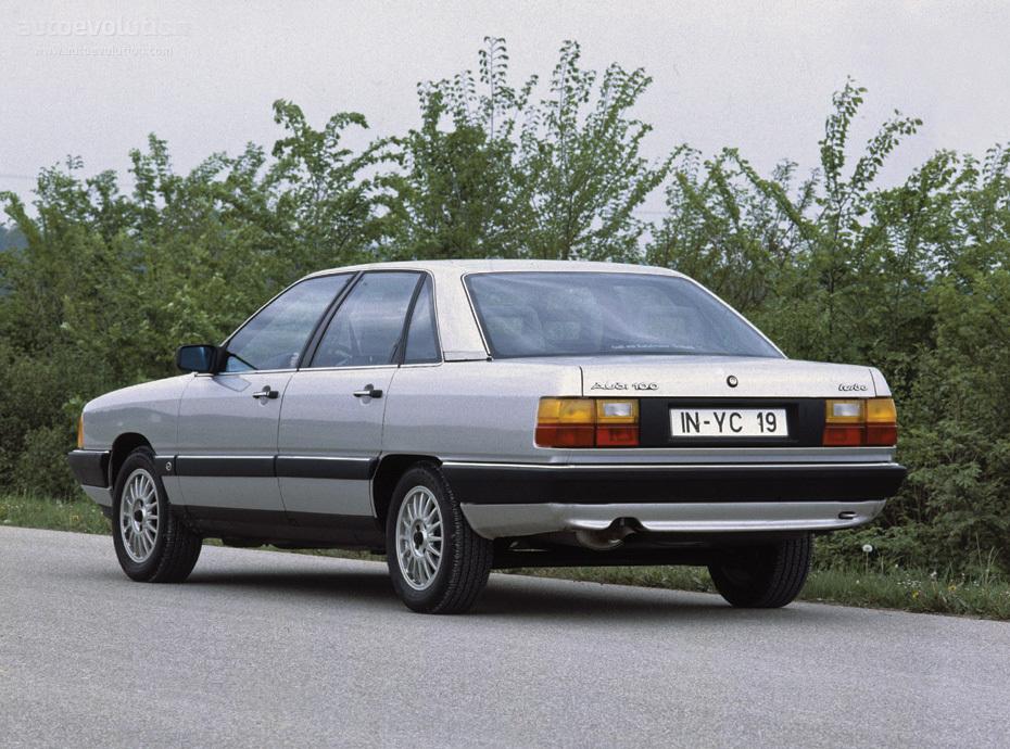 Audi 5000 C3 1983 - 1991 Sedan #7