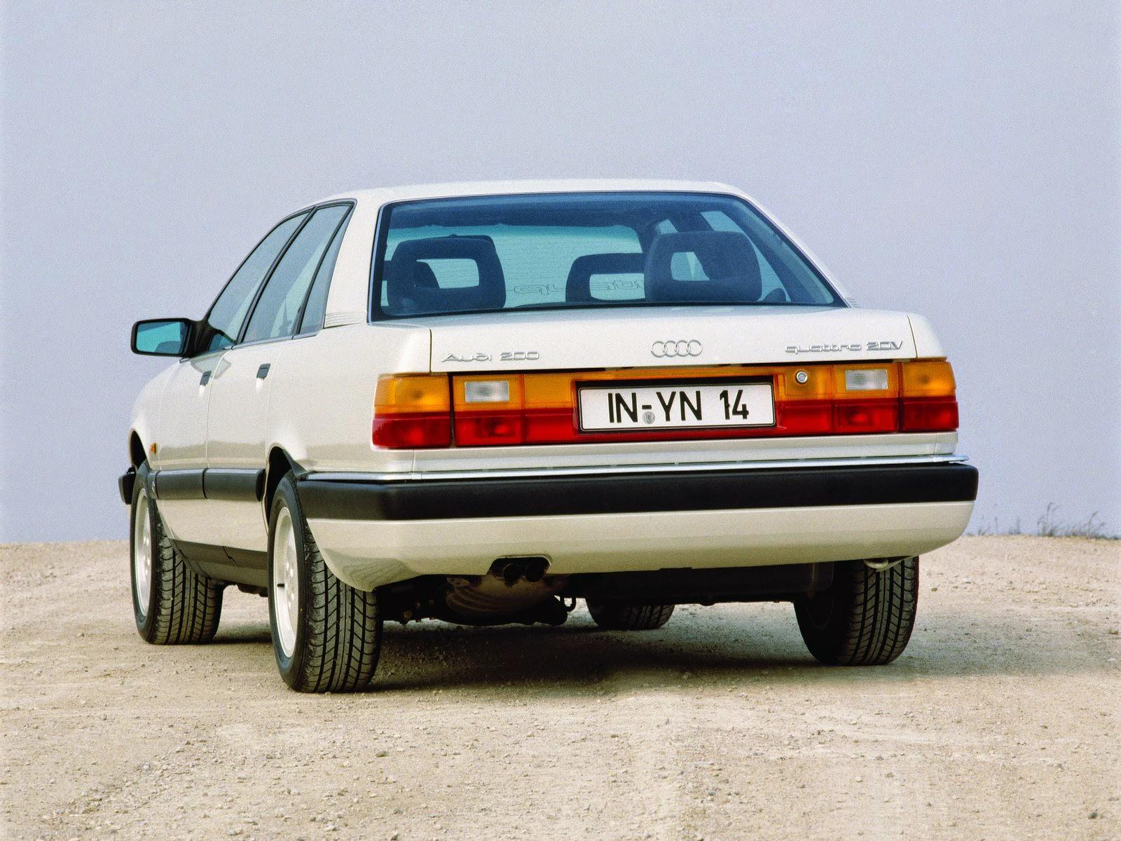 Audi 5000 C3 1983 - 1991 Sedan #2
