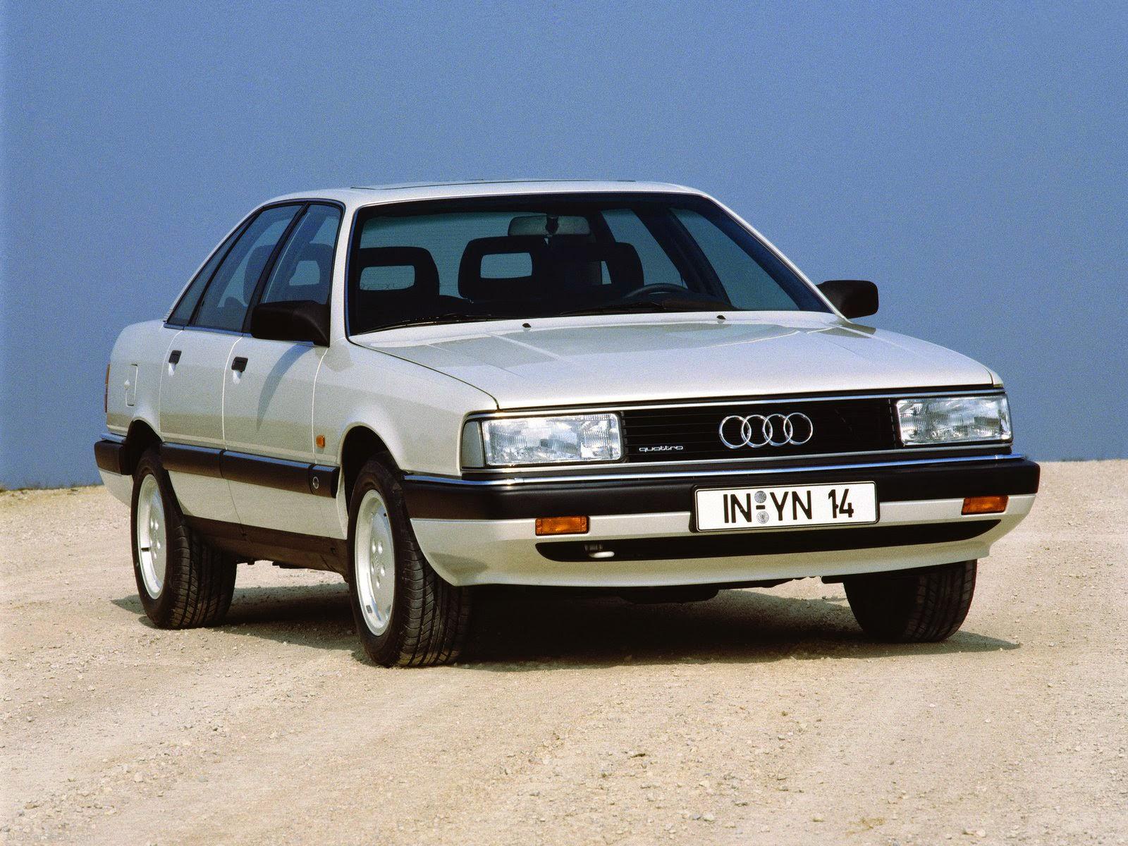 Audi 5000 C3 1983 - 1991 Station wagon 5 door #1