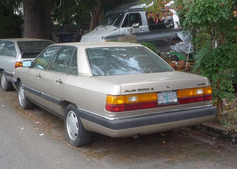 Audi 5000 C2 1980 - 1983 Sedan #1