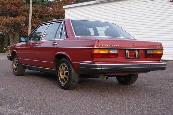 Audi 5000 C2 1980 - 1983 Sedan #7