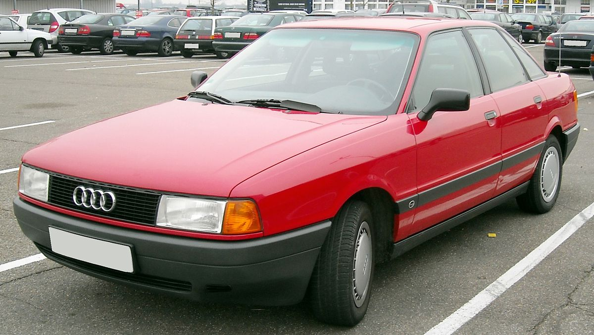Audi 80 V (B4) 1991 - 1996 Sedan :: OUTSTANDING CARS