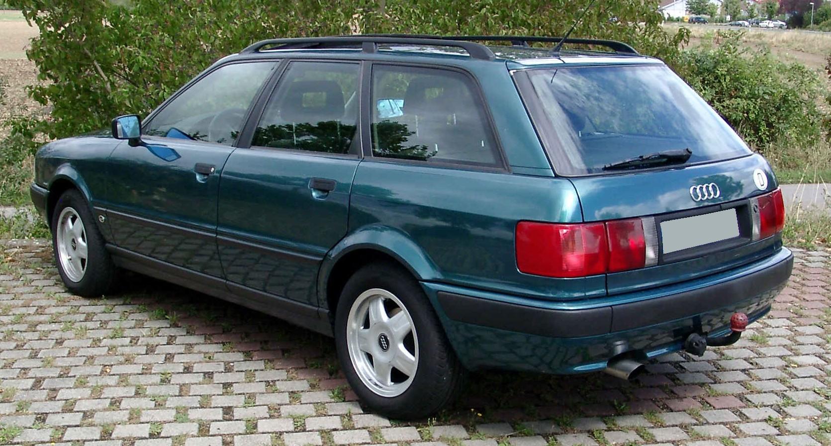 Audi 80 V (B4) 1991 - 1996 Station wagon 5 door #1