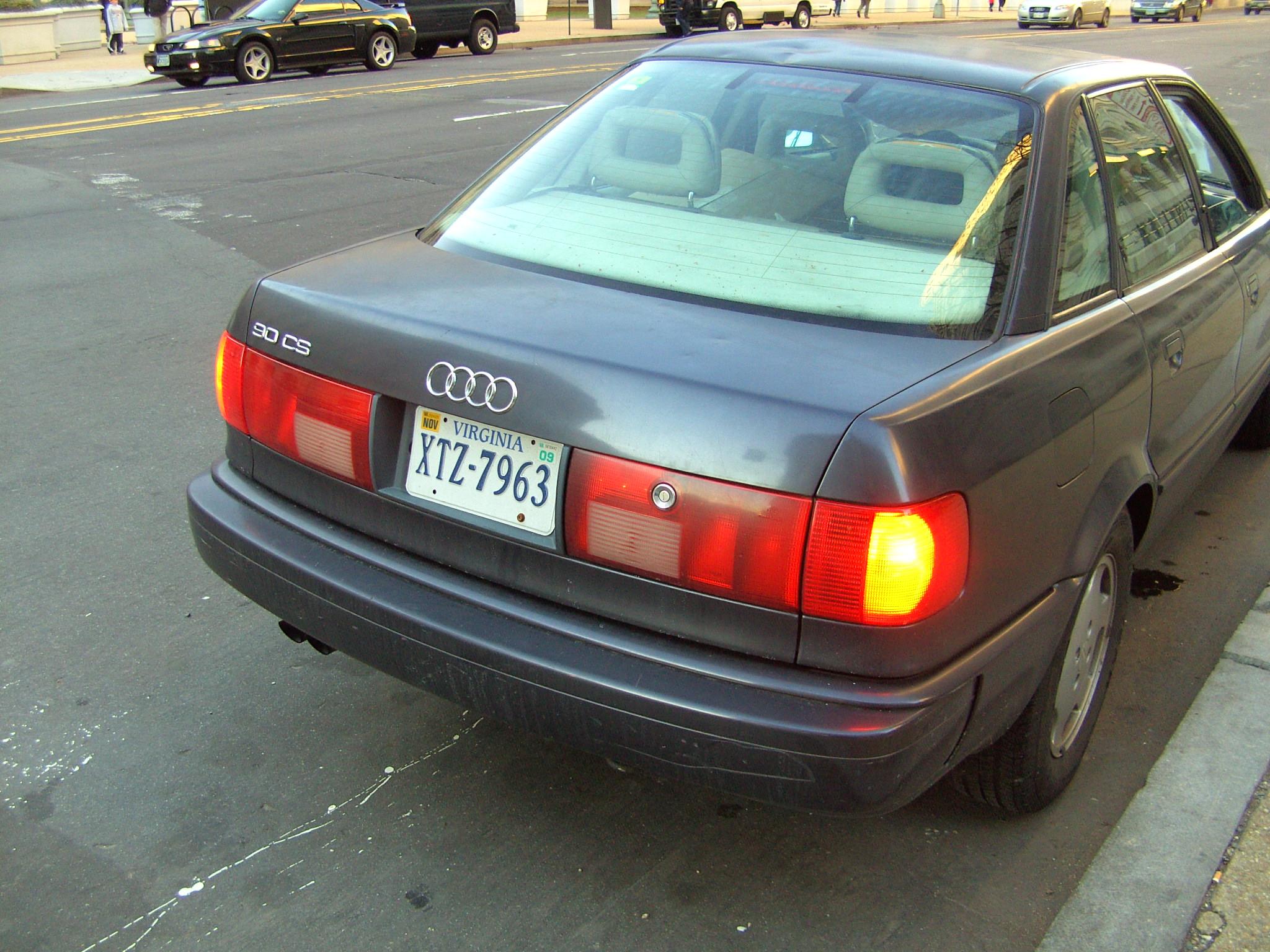 Audi 90 III (B4) 1992 - 1995 Sedan #3