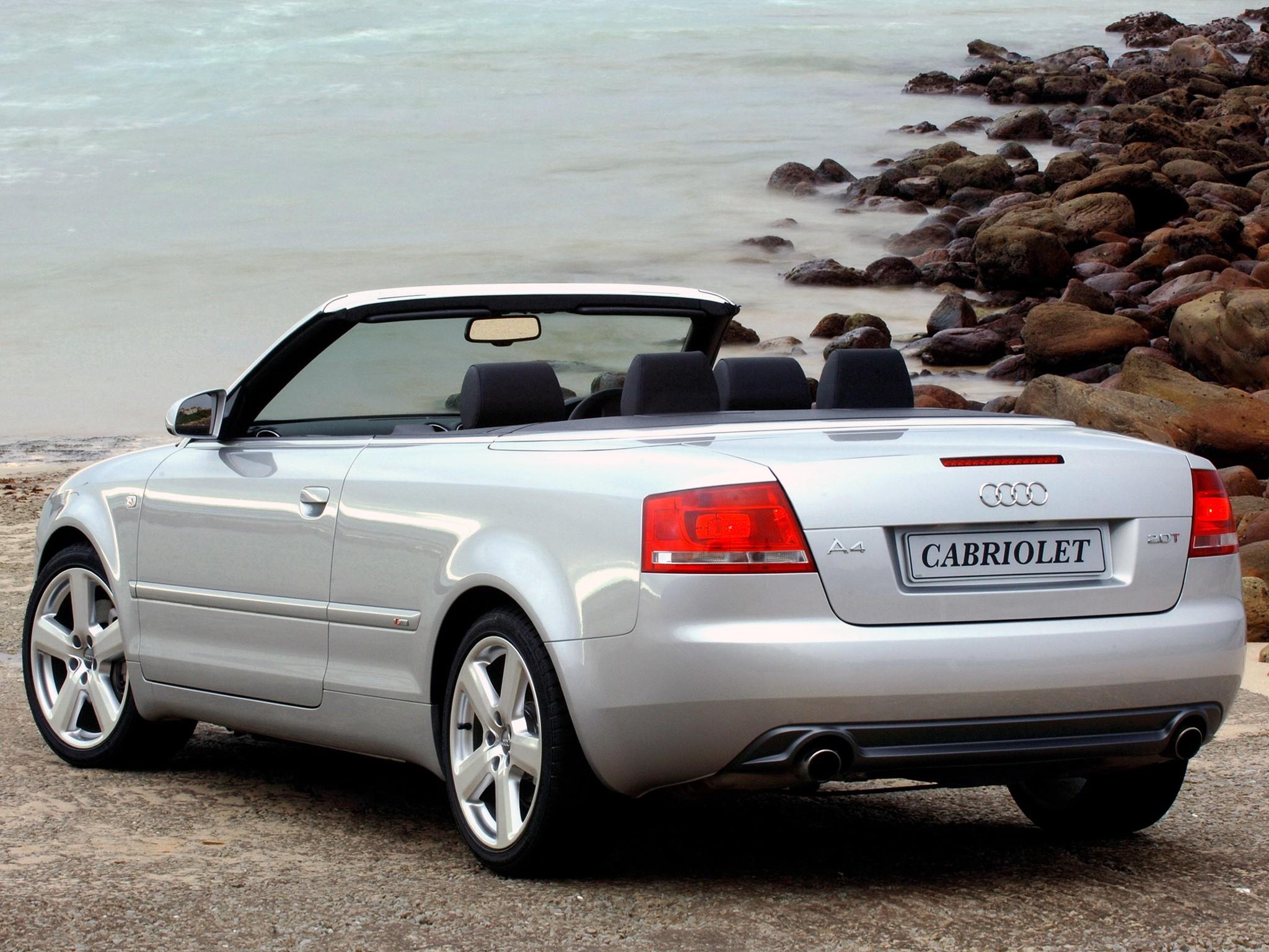 Audi A4 III (B7) 2004 - 2008 Cabriolet #6