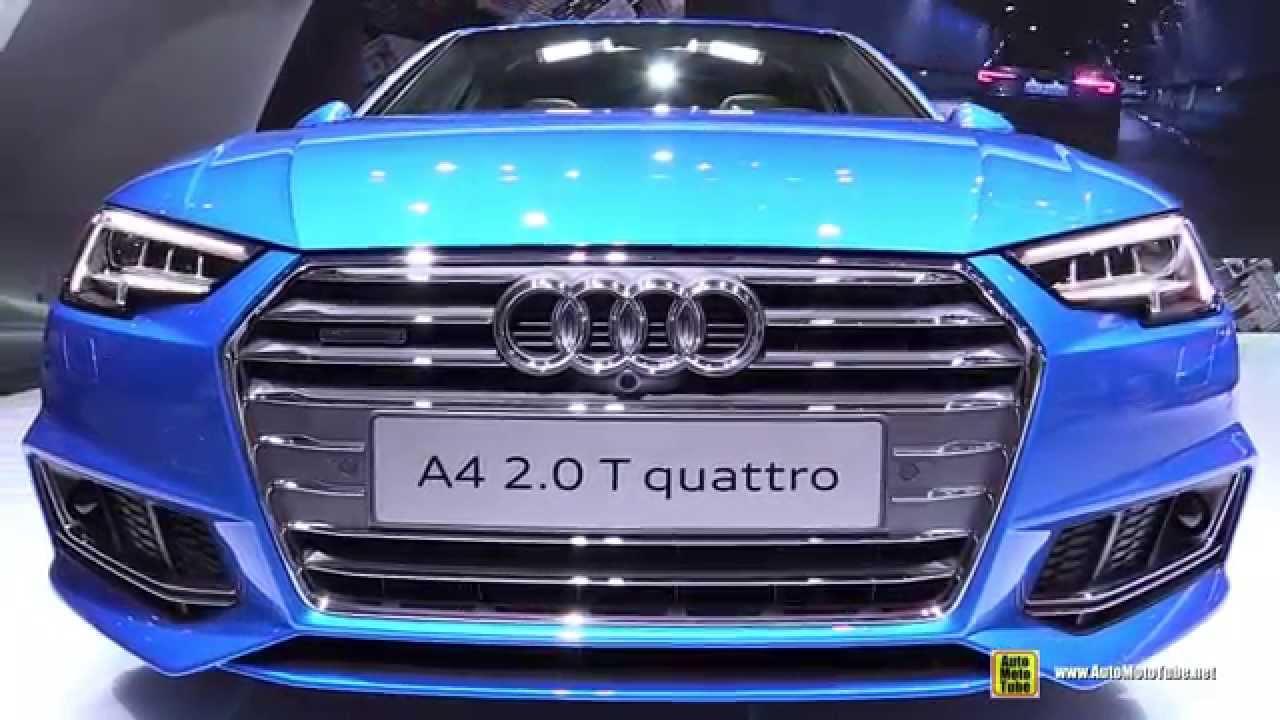Audi A4 V (B9) 2015 - now Sedan #1