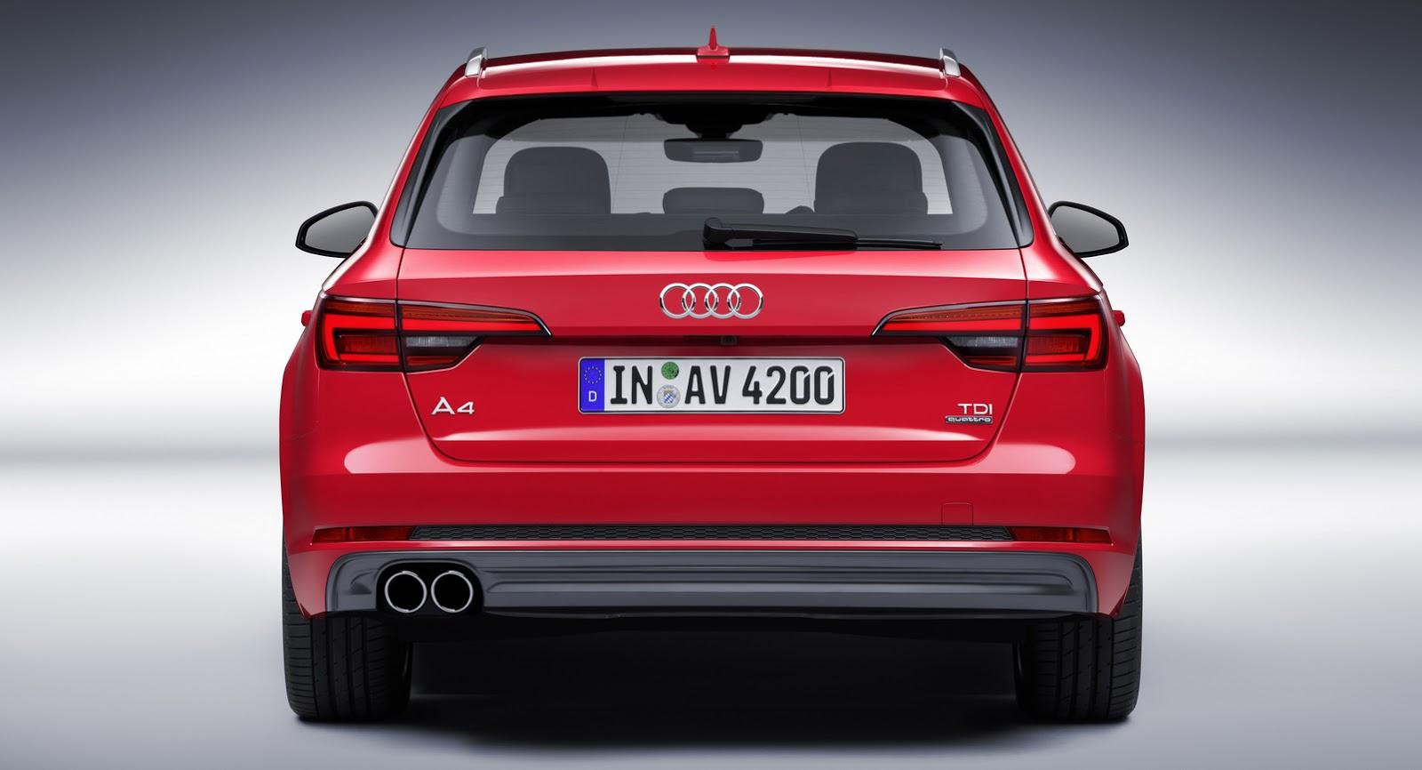 Audi A4 V (B9) 2015 - now Sedan #3