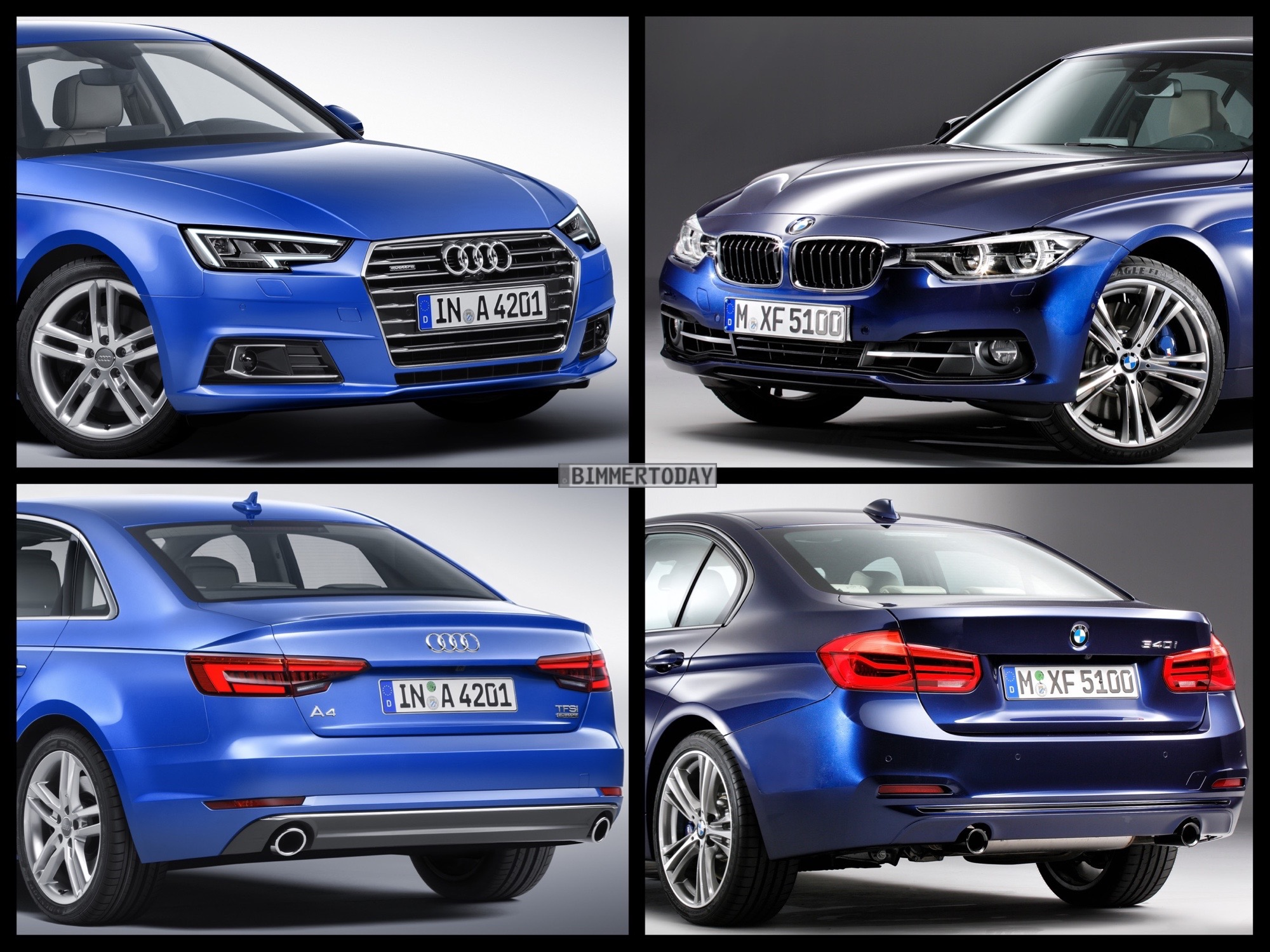 Audi A4 V (B9) 2015 - now Sedan #4