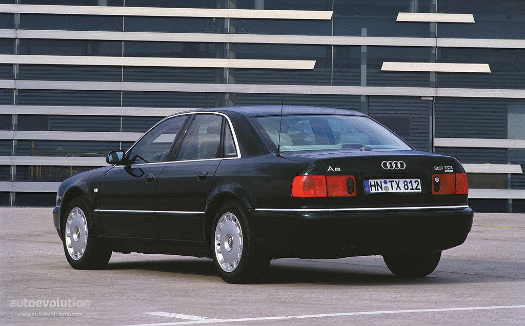 Audi A8 I (D2) 1994 - 1998 Sedan #8
