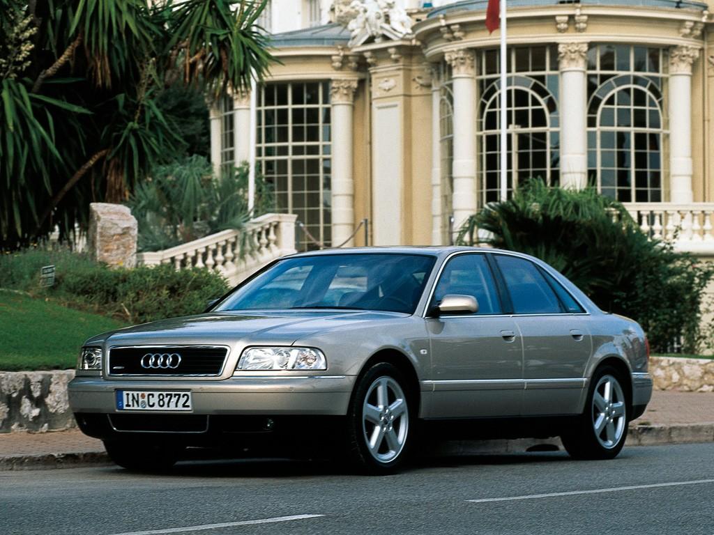 Audi A8 I (D2) Restyling 1998 - 2002 Sedan #1