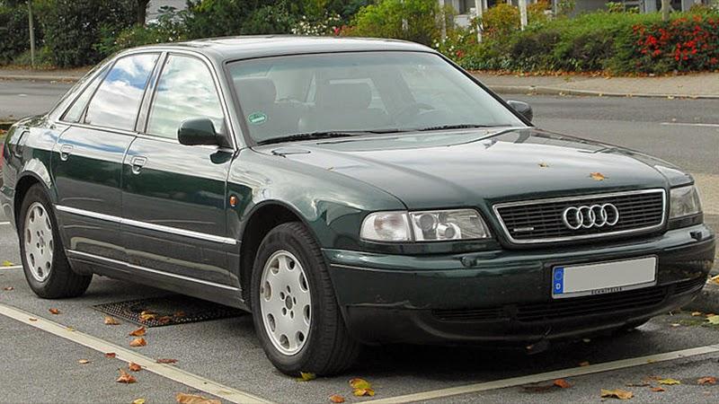 Audi A8 I (D2) Restyling 1998 - 2002 Sedan #8