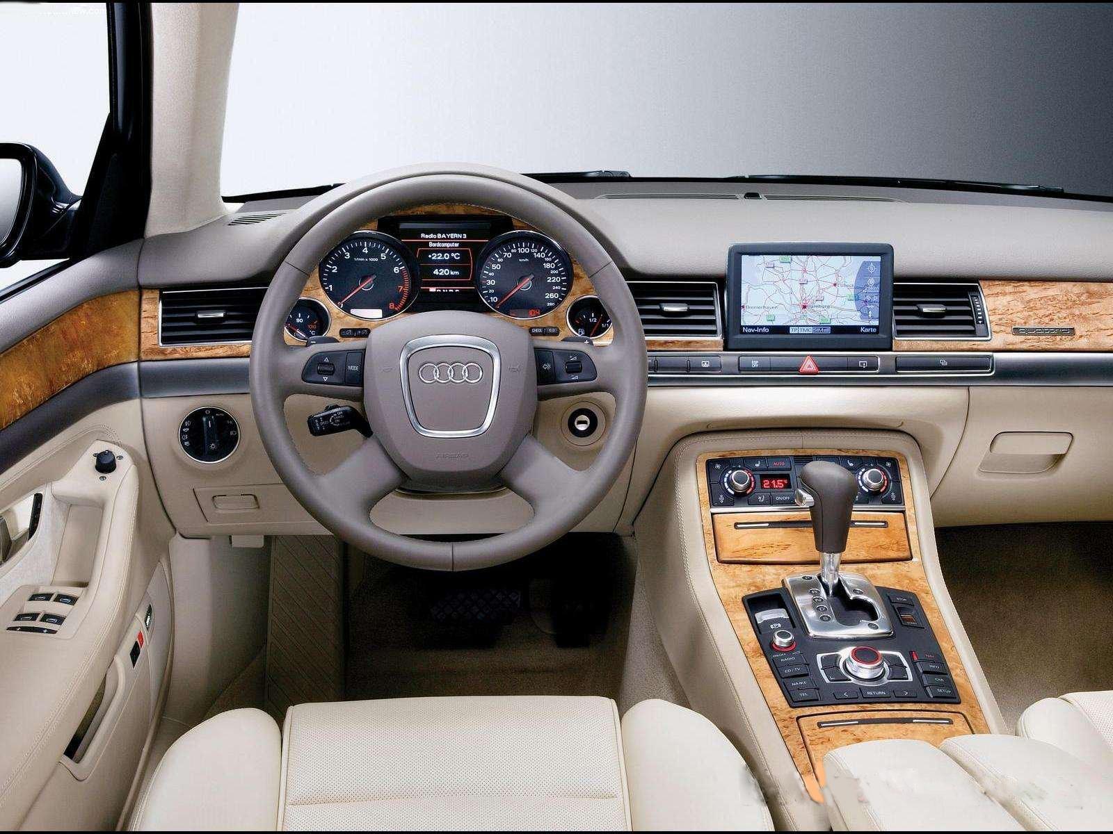 Audi A8 II (D3) Restyling 2 2007 - 2010 Sedan #8