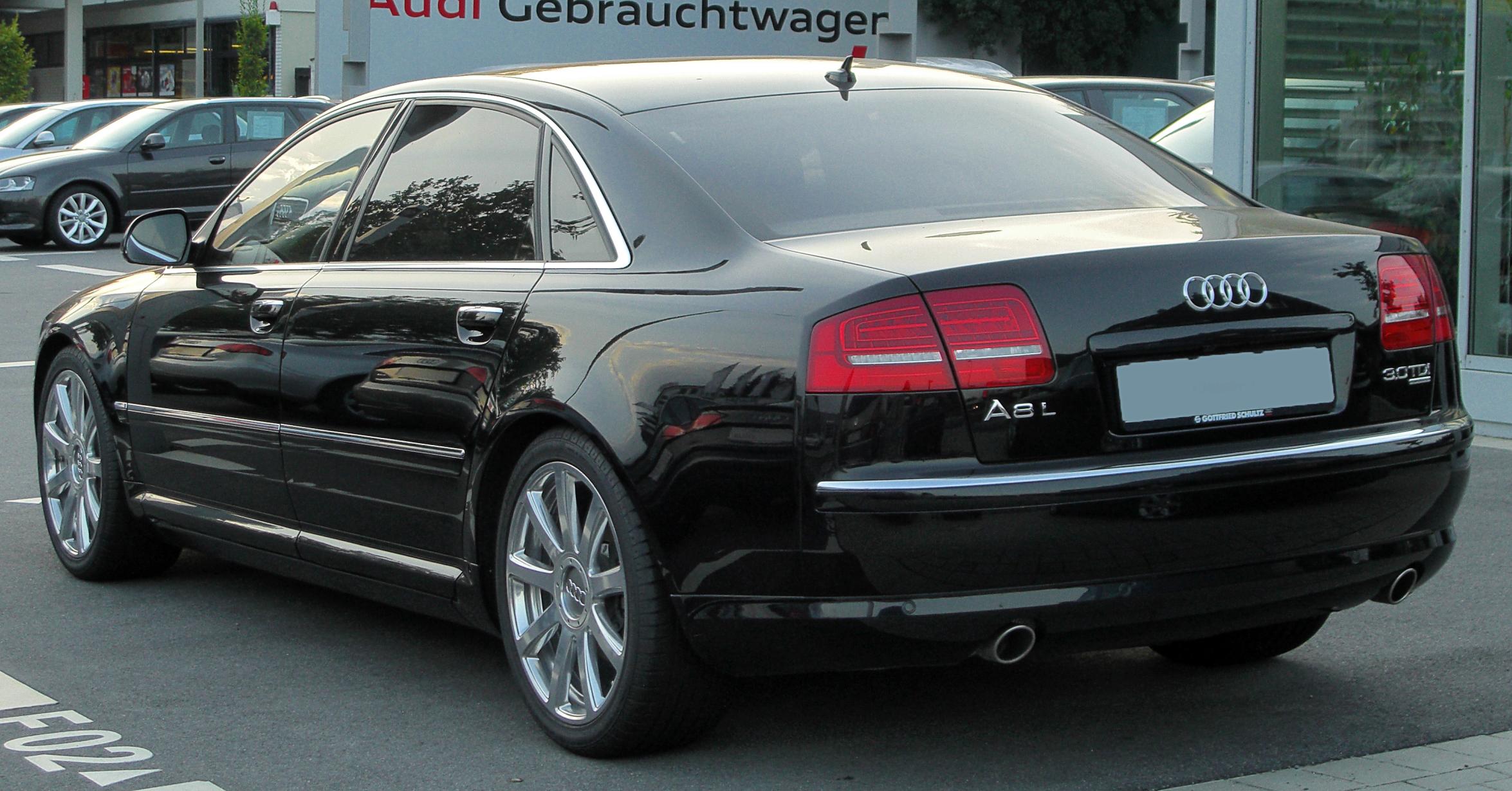 Audi A8 II (D3) Restyling 2 2007 - 2010 Sedan #3