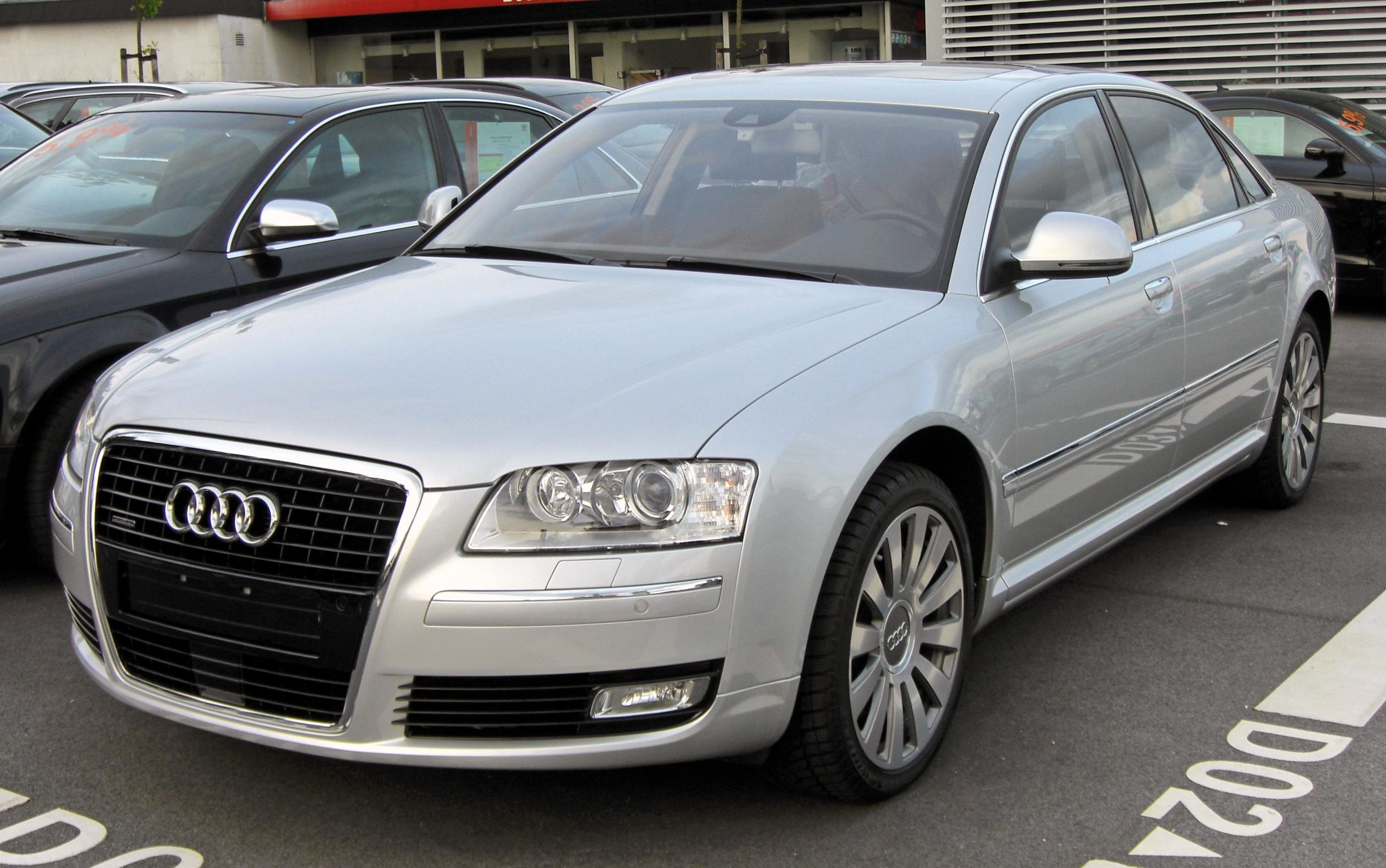 Audi A8 II (D3) Restyling 2 2007 - 2010 Sedan #4