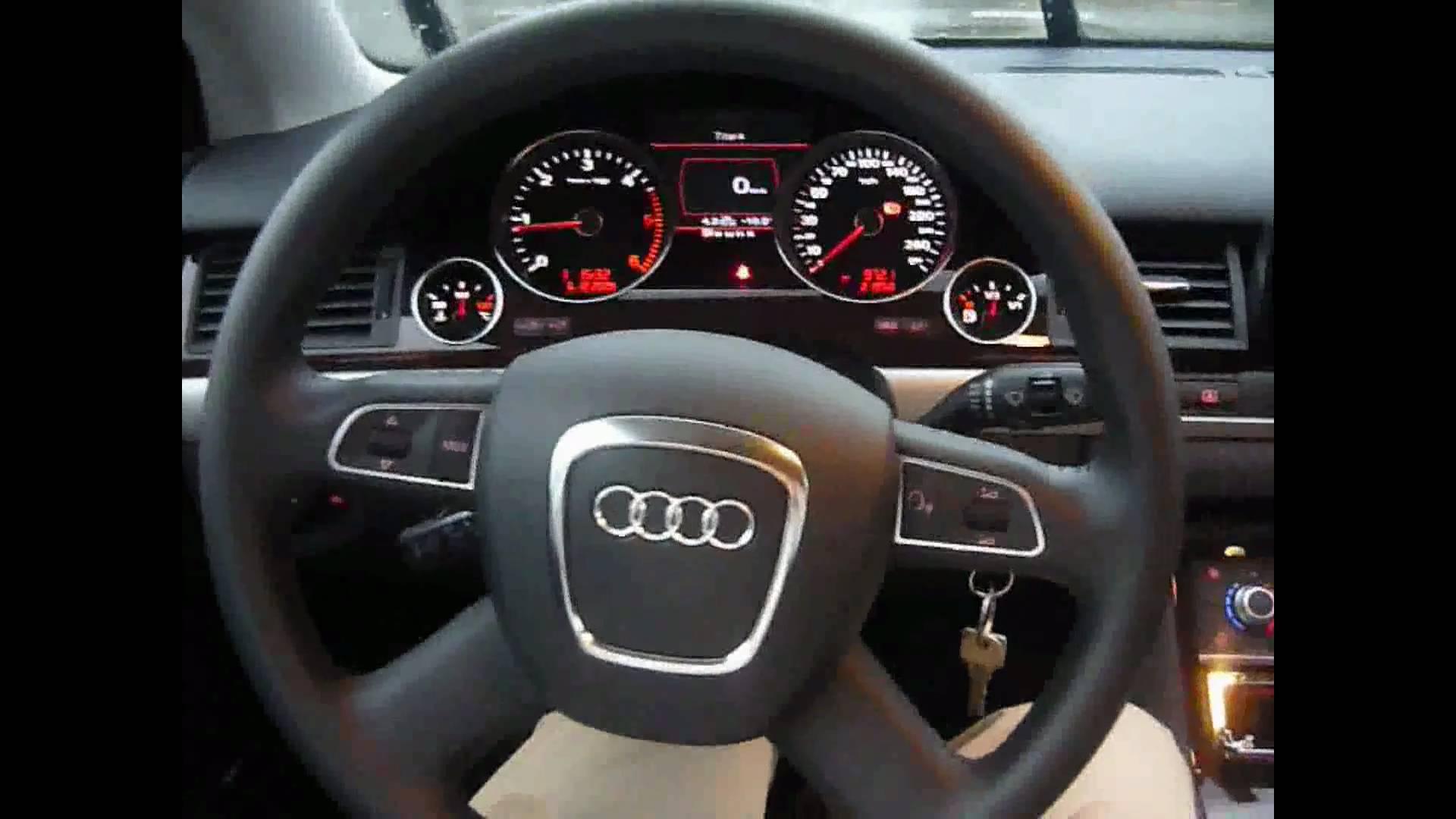 Audi A8 II (D3) Restyling 2 2007 - 2010 Sedan #2