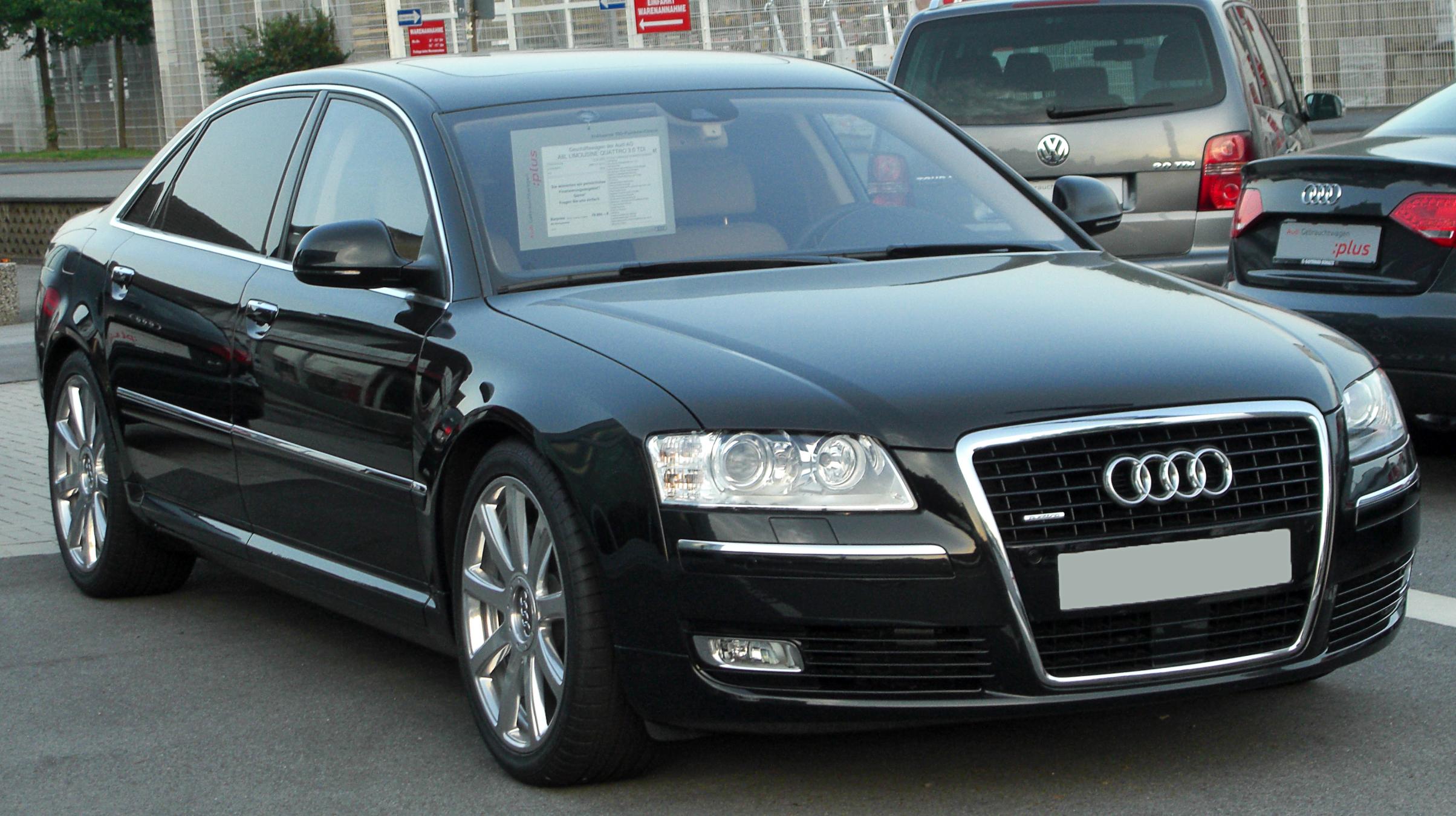 Audi A8 II (D3) Restyling 2005 - 2007 Sedan #3