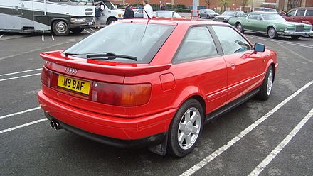 Audi Coupe II (B3) Restyling 1991 - 1996 Coupe #3
