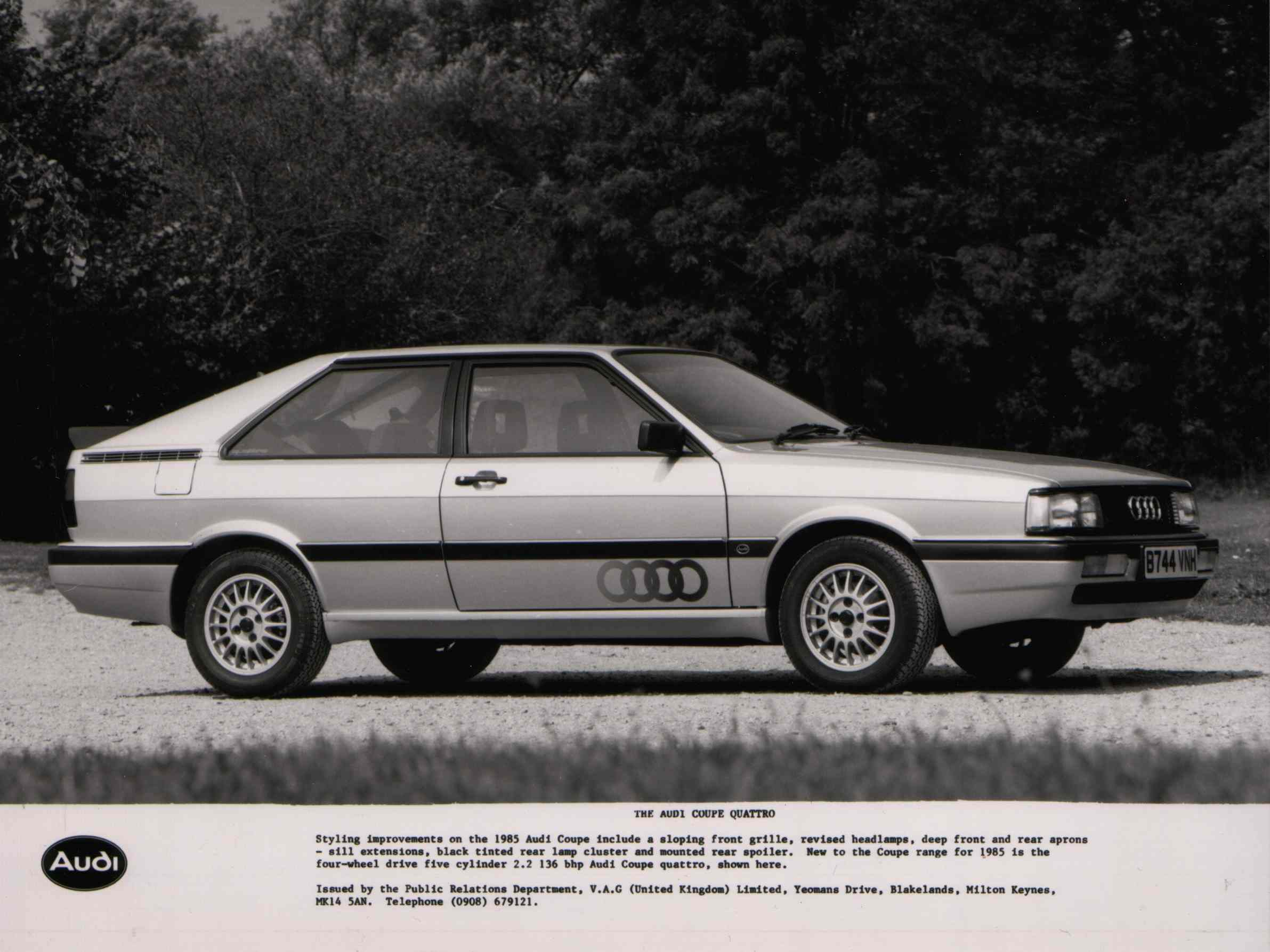 Audi Quattro I 1980 - 1985 Coupe :: OUTSTANDING CARS