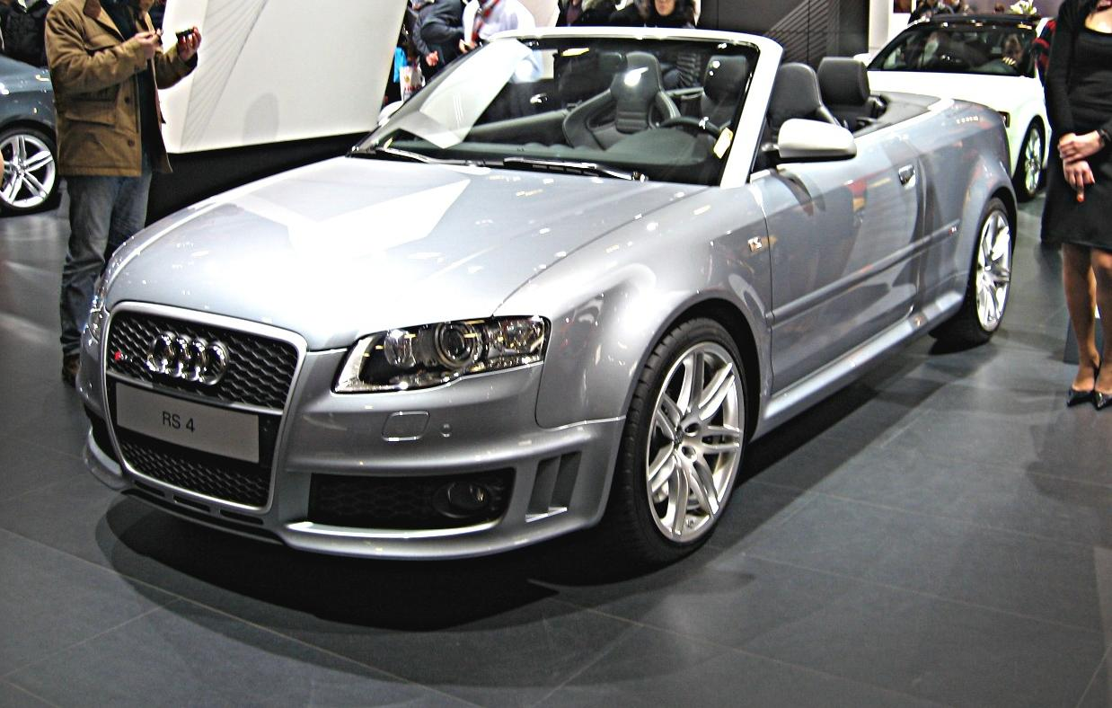 Audi RS 4 II (B7) 2005 - 2009 Cabriolet #3