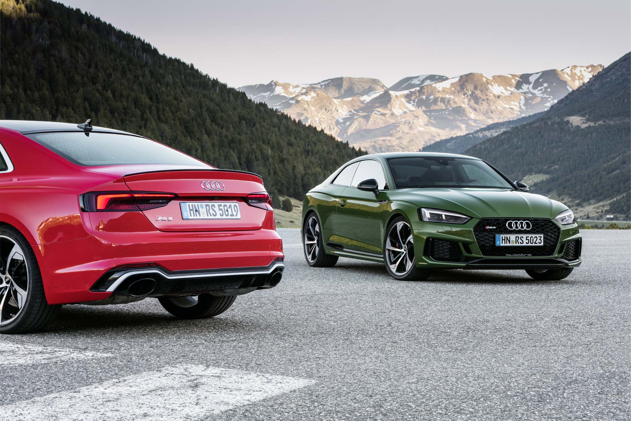 Audi RS 5 II 2017 - now Coupe #1
