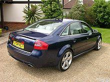 Audi RS 6 I (C5) 2002 - 2004 Sedan #8