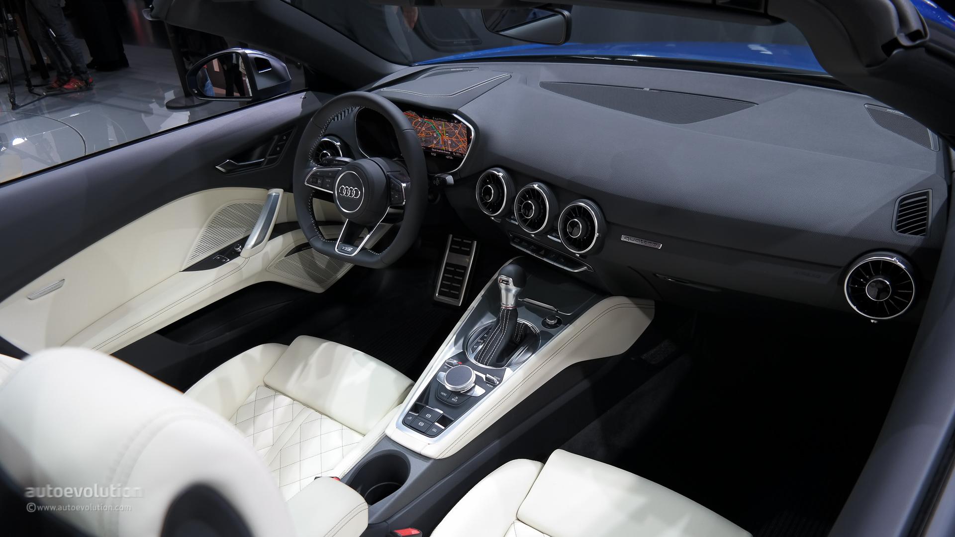 Audi TTS III (8S) 2014 - now Roadster #4