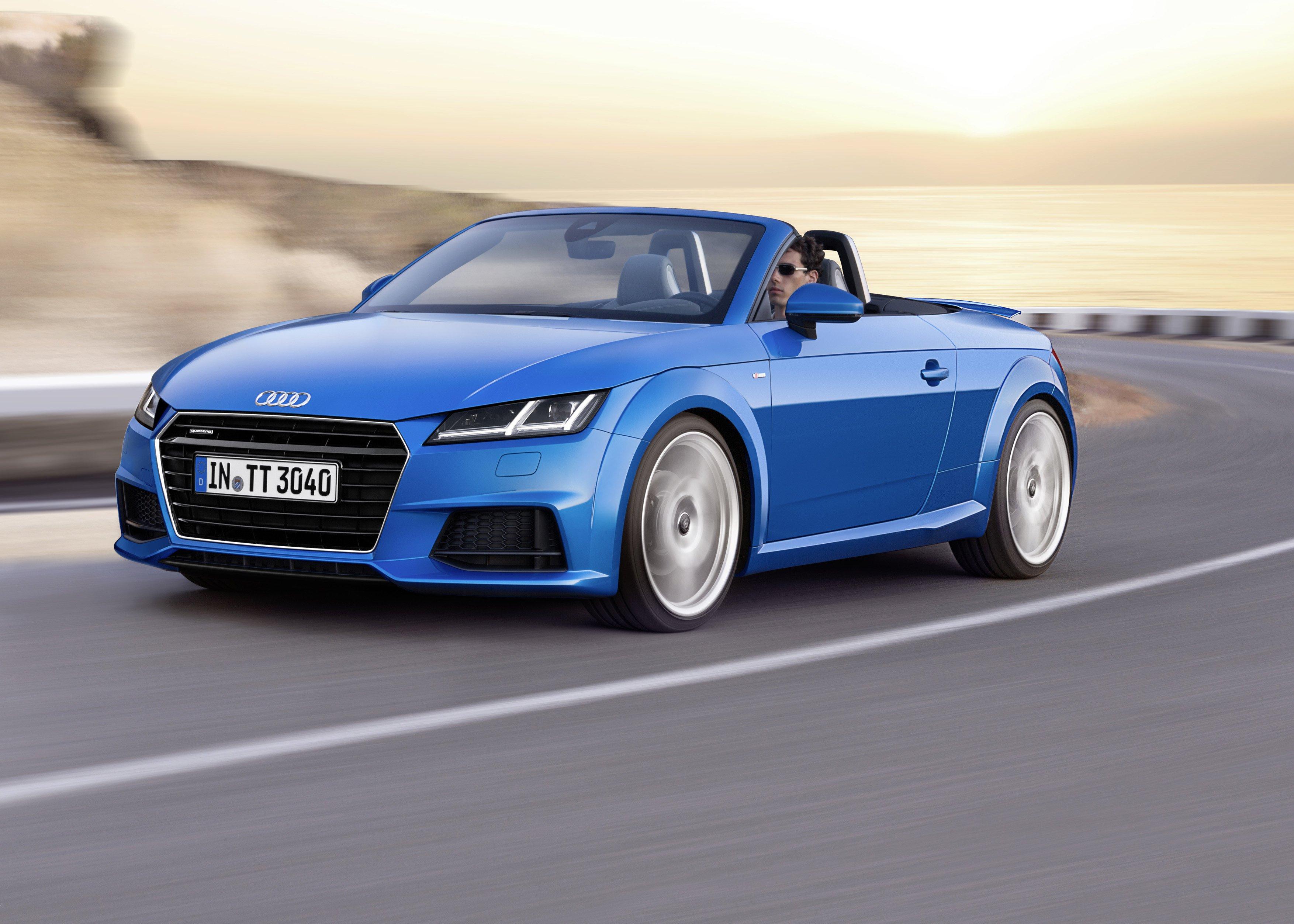 Audi TTS III (8S) 2014 - now Roadster #2