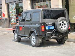 Beijing BJ212 1964 - 1987 SUV #7