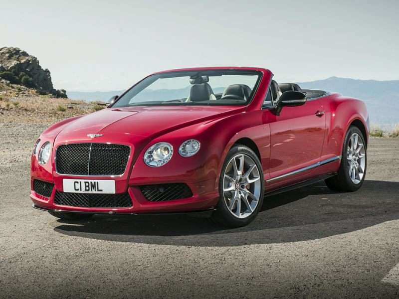 Bentley Continental GT II Restyling 2015 - now Cabriolet #8