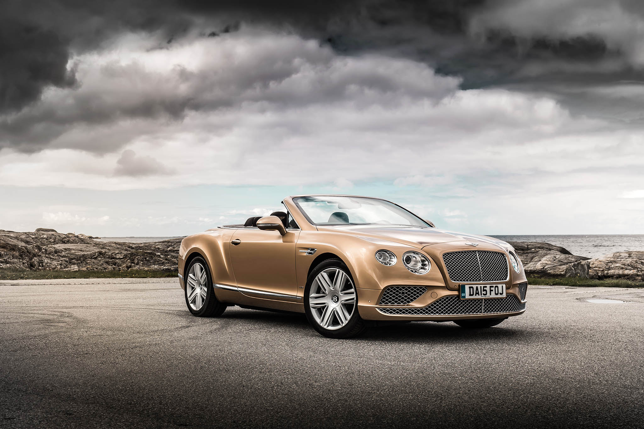 Bentley Continental GT II Restyling 2015 - now Cabriolet #1