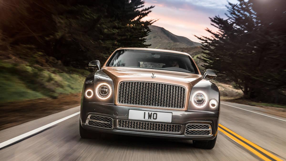 Bentley Mulsanne II Restyling 2016 - now Sedan #4