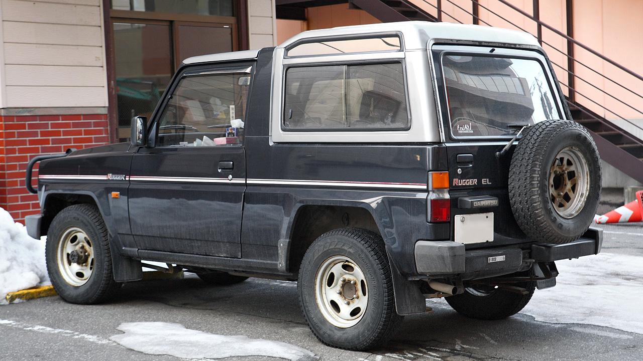 Daihatsu Rugger I 1984 - 1992 SUV 3 door #7