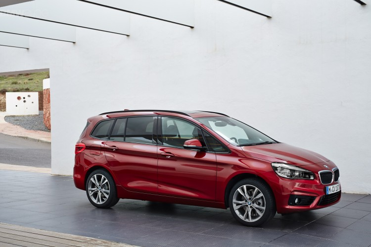 BMW 2 Series Grand Tourer F46 2015 - now Compact MPV #8