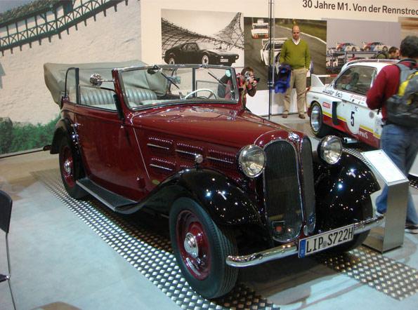 BMW 315 1934 - 1937 Sedan 2 door #3
