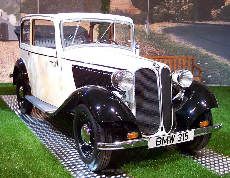 BMW 315 1934 - 1937 Sedan 2 door #2
