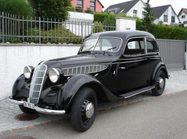BMW 321 I 1937 - 1950 Sedan 2 door #2