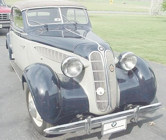 BMW 321 I 1937 - 1950 Sedan 2 door #1