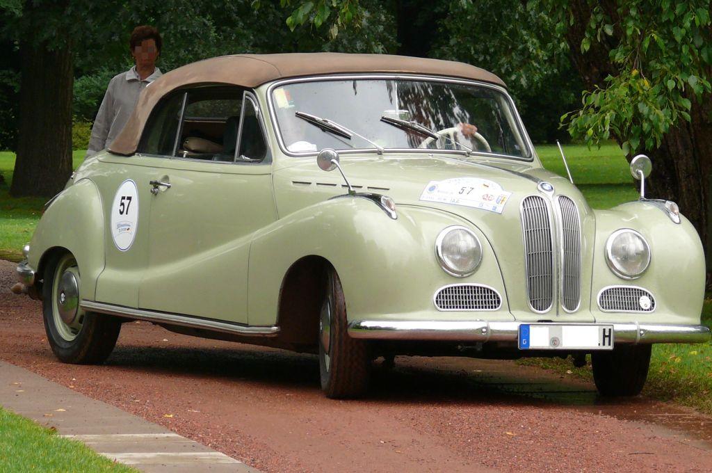 BMW 501 1952 - 1958 Sedan #8